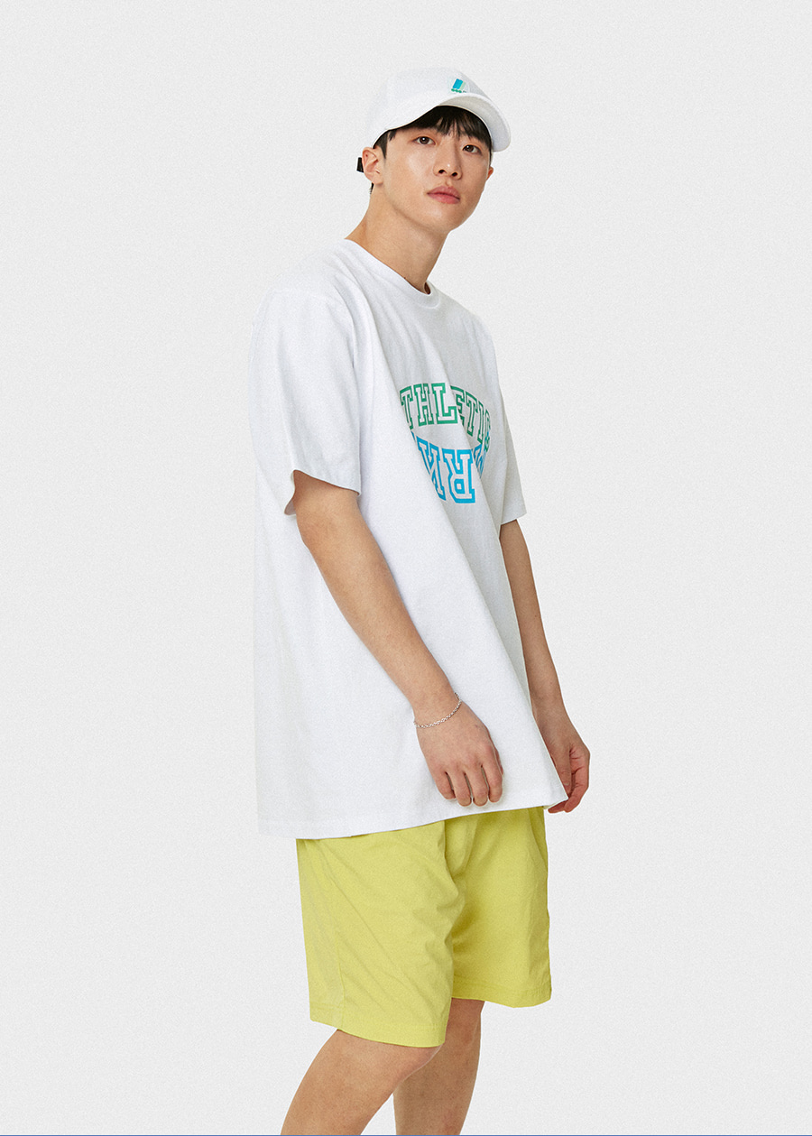마크엠(MARKM) MARKM Athletetic T-Shirts WH
