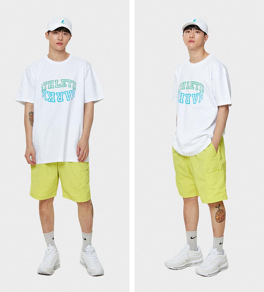 마크엠(MARKM) MARKM Athletetic T-Shirts NA